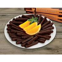 Dark Chocolate Orange Sticks
