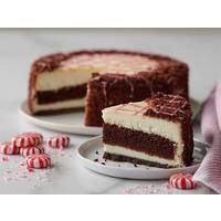 Peppermint Combo Cake