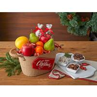 Christmas Wishes Gift Basket