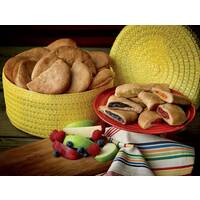 Empanadas in Southwest Maize Basket