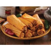 3 Dozen Tamales W/Fire Roasted Cantina Sauce
